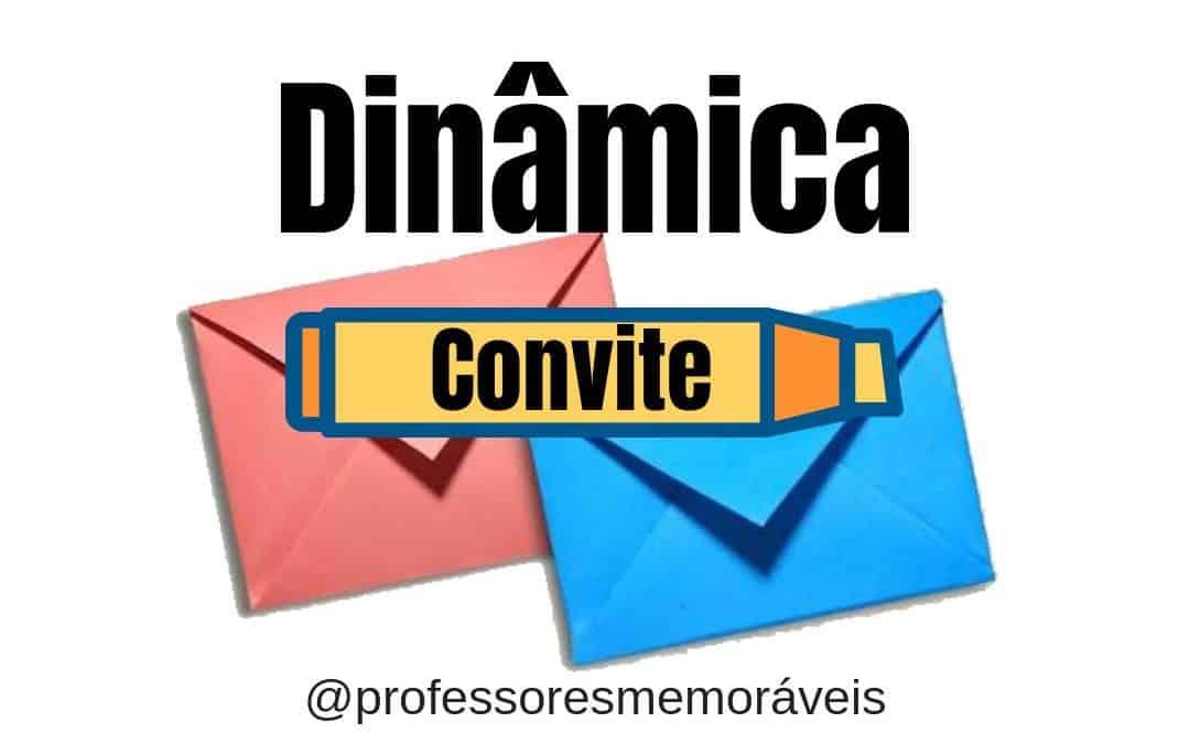 Dinâmica – Convite para reunião